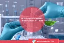 Chemicals Industry Research / A substance or molecule having distinct features and would be used in a process resulting in producing a new substance or molecule through a set reactions with other substances or molecules are called as Chemicals and the processes are referred to as Chemical Reactions.