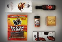 Man Food / Covering the full spectrum of flavor profiles: sweet, savory, spicy, and bacon.