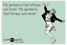 Jamberry Nails! / www.lizdevoss.jamberrynails.net Stylish nail wraps available in more than 300 styles! Non toxic, vegan and gluten free.  / by Liz DeVoss