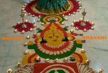 decoration pooja