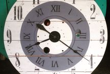 Spoolin' Around / The magnificent spool clock creations of our wonderful customer, Marble Hill Clockworks!