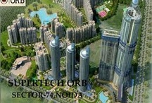 Supertech ORB.Sector-74,Noida / Supertech residential project Supertech ORB located at Sector 74, Noida. Supertech ORB offers 3BHK, 4BHK apartments. Supertech ORB is among the Ongoing Projects of Supertech Limited. The landscape is beautiful with spacious Houses. Supertech ORB Project has various modern amenities like Swimming Pool, Play Area, 24Hr Backup, Security, Club House, Cafeteria, Tennis Court, Gymnasium etc