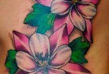 Flower Vine Tattoos
