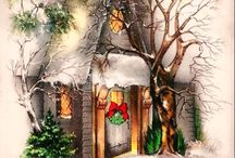 Christmas/Holiday/Quaint Cottages