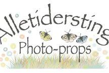 AlleTidersTing - Props / Varebilleder fra websiden:  www.alletidersting.dk - Forskellige rekvisitter / props primært til nyfødt fotografering  Pictures from the webshop: www.alletidersting.dk - Photo props for Newborn Photography
