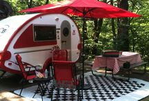 Hit The Road / Travel trailers, RVs and Glamping Goodies! / by Maria Perez-Bastian