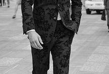 Floral men suit