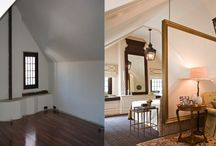 Before and After Photos of Rooms created by JDEI / When John Douglas Eason Interiors, Inc. designs a room the transformation is never predictable and always sophisticated, with a twist.