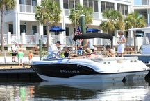 Marina at St. James Plantation / St. James Marina & Market Place has it all in one spot! 155 wet slips, dry stack storage for 320 boats, full service marina, Tommy's Market, Tommy Thompson's Grille, and Artisans Gallery. / by St. James Plantation