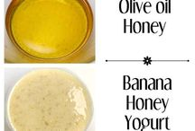 Try a homemade hair mask. / Hair treatment