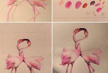 My watercolor SEVILLA / Poco a poco