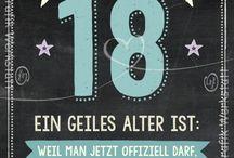 18ter Geburtstag