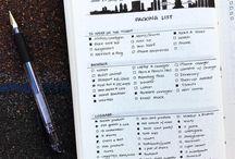 Travel hacks/lists