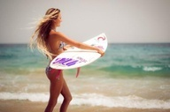 Surfing / Surf , sun and sand