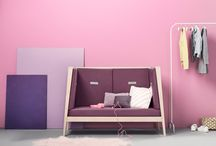 Purple Nursery / Ultra violet is the 2018 Colour of Year and here's some ideas you can embrace purple and lavender in your nursery