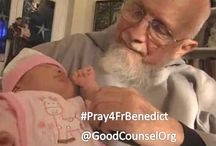 Fr. Benedict Groeschel, Co-Founder of Good Counsel / A place to share favorite photos of Fr. Benedict, please pray for Father.