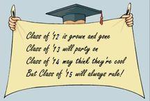 senior year & graduation ! / by Mirela Topalovic