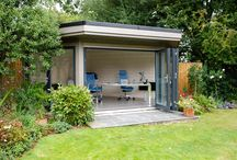Garden office - work from home / Our solid log home office range