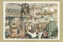 Anton Pieck wenskaarten - greetingcards
