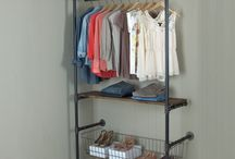 Plumber pipe obsession / Shelves pipes galvanized