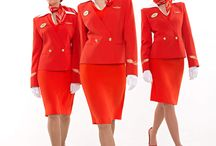Flight Attendant Uniforms / by Gayle Lynch