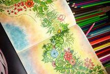 Johanna Basford - coloring - art
