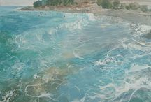 FBA Collections: The Beach / The Federation of British Artists at the seaside.   Works shown at The Federation of British Artists Annual Exhibitions of the beach