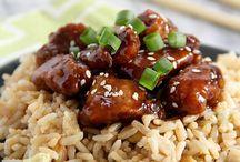 chinese recipes / by Carol Bond