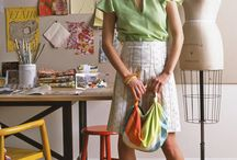 Bag Lady / DIY Tutorials for purses, handbags, totes, and clutches / by Christy Kramer