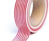 Embellishments - Washi & Trendy Tape / Great embellishments for your cards and projects!