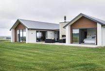 Modern çiftlik evleri