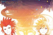 Kingdom Hearts Axel X Roxas