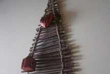 Christmas / inspirations, DIY, decorations for home, trees,