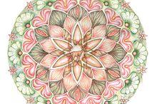 Mandala's / Meditatief kleuren, volgen wat er gebeurt......
