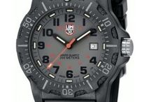 Luminox Watches / Some serious hard core military watches. Most of these are used by soldiers throughout the world. Some are even designed by Navy SEALS