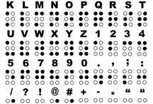 braiille alfabesi
