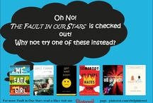 The Fault in our Stars Read-Alikes / You've heard great things about The Fault in our Stars by John Green. You're excited about the movie.  You want to read the book but all our copies are checked out!  Here's what to read instead.