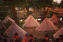 Bell Tents / Because camping has never been so pretty