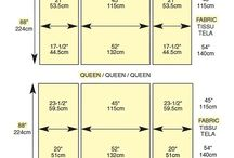 Sewing - Blankets & Quilts - Charts