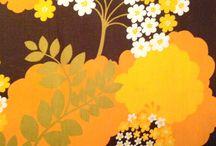 70s fabric pattern