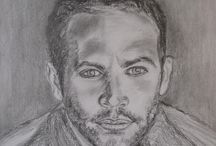 szkice ołówkiem ... / wykonuję portrety ołówkiem ...