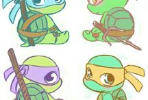 Tartarughe Ninja baby