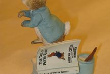 Peter Rabbit and the Easter Bunny / Peter Rabbit and Easter Bunny figurines