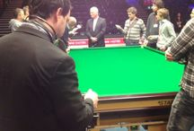 Masters Snooker 2014 / As part of Sportsbeat's successful partnership with Eurosport, we sent a multimedia team to film journalists from across Europe as they enjoyed a snooker masterclass with 1986 World Champion and Eurosport commentator Joe Johnson in January.  Our cameras followed them from Whetstone Snooker Club to the Alexandra Palace, taking in exclusive backstage interviews with World Snooker chairman Barry Hearn and three-time Masters champion Mark Selby on the way.