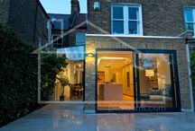 Chic Herne Hill extension with cool structural glazing, creative lighting and considered design.