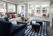Family And Living Rooms / by Lizzy Owens