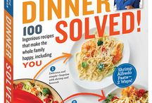 Dinner Solved / Meals inspired by Dinner Solved by @KatieWorkman100 http://www.themom100.com/book/dinner-solved/ #DinnerSolved