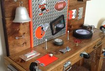 Tool bench board