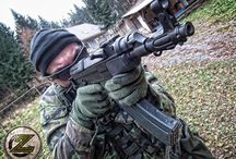 Submachine/rifle - Samopal vz 58