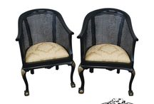 Chairs / Some of the diverse chairs we have in our shop.   http://www.stores.ebay.com/buckscountyestatetraders